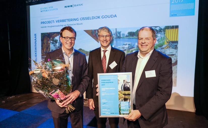 Verbetering IJsseldijk wint publieksprijsWaterinnovatie