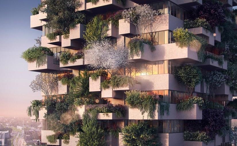 Dit verticale bos wordt geplan(d)t inEindhoven